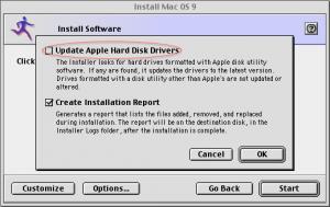 不要选择更新硬盘驱动