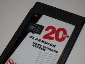 Storage technology advanced through years