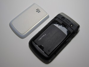 Battery, cover, camera and sd card slot