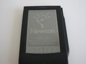 Original MessagePad with Newton OS 1.10