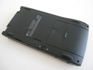 MessagePad 120 Back