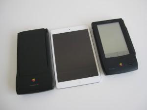 MessagePads compare to iPad mini
