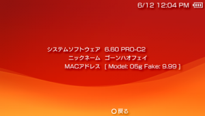 PSP Go version