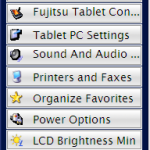 Fujitsu Menu app
