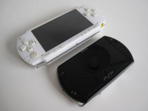 PSP Phat and PSP Go