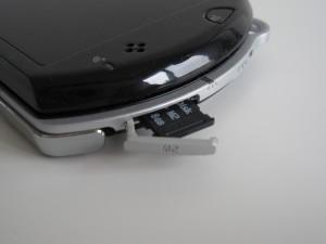 PSP Go M2 card slot