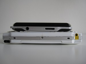 PSP Phat and PSP Go Bottom