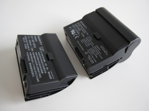 Vaio UX two sizes of batteries