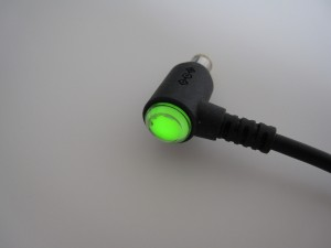 Vaio UX power adapter plug with led